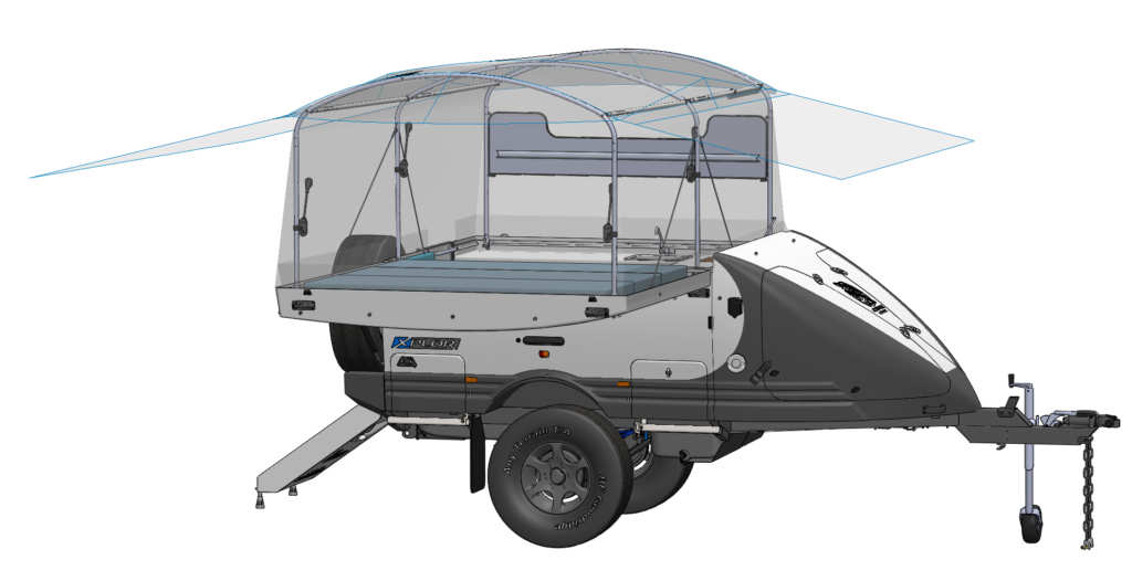 XPlor 180 Tent Diagram